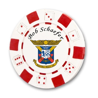 Delta Kappa Epsilon Poker Chips