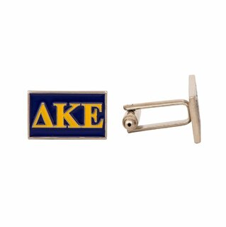 Delta Kappa Epsilon Rectangle Cuff Links