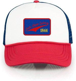 Delta Kappa Epsilon Red, White & Blue Trucker Hat