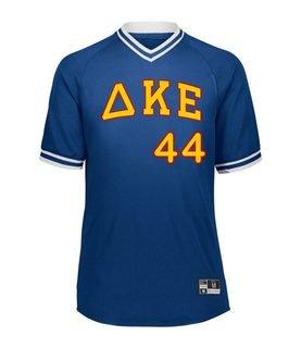Delta Kappa Epsilon Retro V-Neck Baseball Jersey