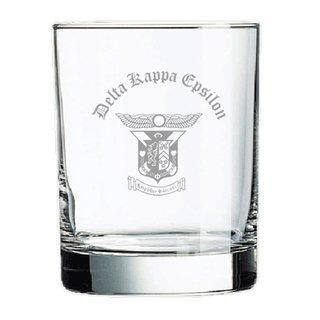 Delta Kappa Epsilon Old Style Glass