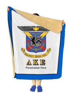 Delta Kappa Epsilon Sherpa Lap Blanket