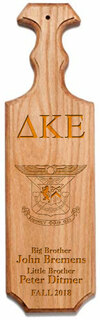 Delta Kappa Epsilon Traditional Greek Paddle