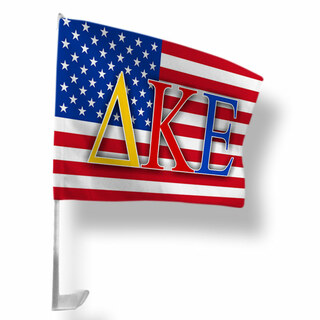 Delta Kappa Epsilon USA Car Flag