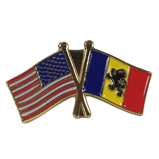 Delta Kappa Epsilon USA Flag Lapel Pin