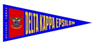 Delta Kappa Epsilon Wall Pennants
