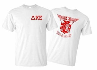 Delta Kappa Epsilon World Famous Greek Crest T-Shirts - MADE FAST!