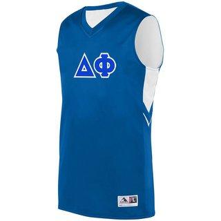 DISCOUNT-Delta Phi Alley-Oop Basketball Jersey