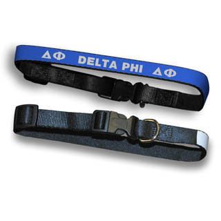 Delta Phi Dog Collar