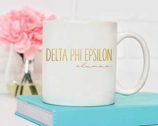 Delta Phi Epsilon Alumna Mug