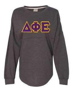 DISCOUNT-Delta Phi Epsilon Athena French Terry Dolman Sleeve Sweatshirt