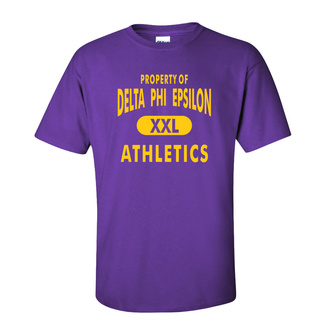 Delta Phi Epsilon Athletics T-Shirts