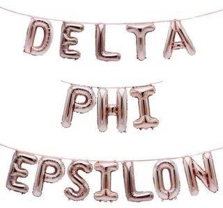 Delta Phi Epsilon Banner Balloon Set