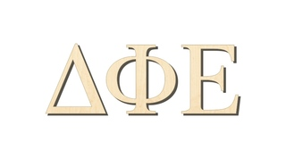 Delta Phi Epsilon Big Wooden Greek Letters
