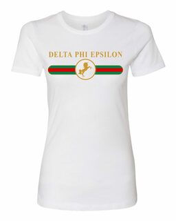 Delta Phi Epsilon Boyfriend Golden Crew Tee