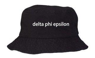 Delta Phi Epsilon Bucket Hat