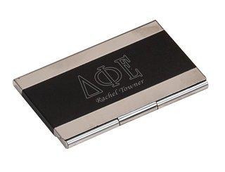 Delta Phi Epsilon Business Card Holder
