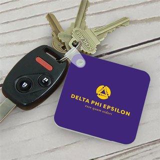 Delta Phi Epsilon Mascot Key Chain