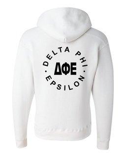 Delta Phi Epsilon Circle Hoodie