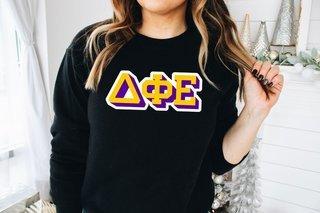 Delta Phi Epsilon City Greek Sweatshirt