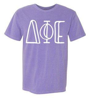 Delta Phi Epsilon Comfort Colors Heavyweight Design T-Shirt