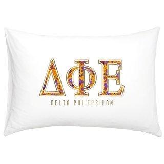 Delta Phi Epsilon Cotton Knit Pillowcase