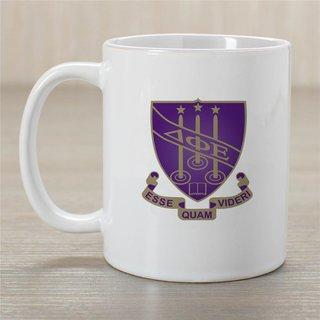 Delta Phi Epsilon Crest Coffee Mug