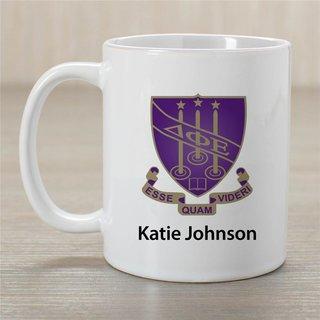 Delta Phi Epsilon Crest Coffee Mug - Personalized!