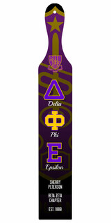 Delta Phi Epsilon Custom Full Color Paddle