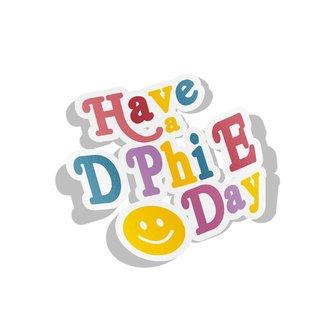 Delta Phi Epsilon Day Decal Sticker