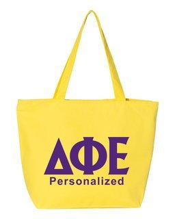Delta Phi Epsilon Design Your Own Tote Bag
