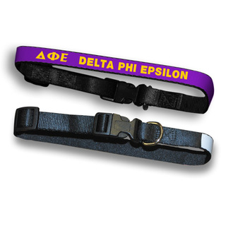 Delta Phi Epsilon Dog Collar