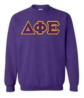 Delta Phi Epsilon Greek Crewneck- MADE FAST!