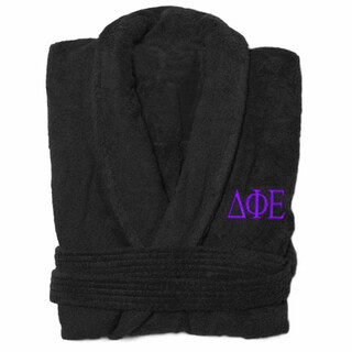 Delta Phi Epsilon Greek Letter Bathrobe