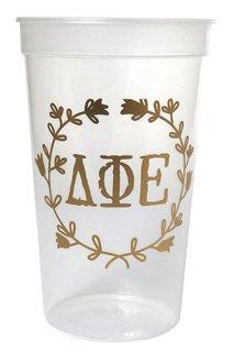 Delta Phi Epsilon Greek Wreath Giant Plastic Cup