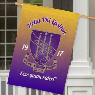 Delta Phi Epsilon House Flag