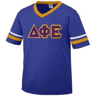 Delta Phi Epsilon Jersey With Custom Sleeves
