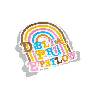 Delta Phi Epsilon Joy Decal Sticker