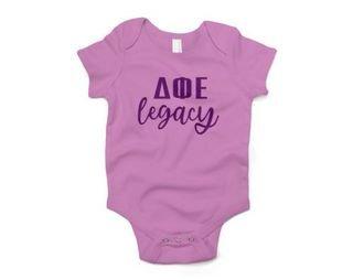 Delta Phi Epsilon Legacy Baby Outfit Onesie