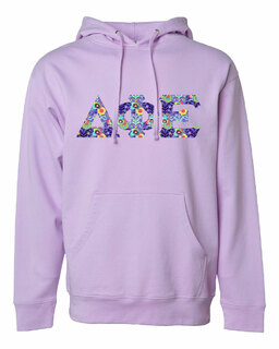 Delta Phi Epsilon Lettered Independent Trading Co. Hooded Pullover Sweatshirt