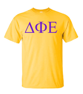 Delta Phi Epsilon Lettered Tee - $11.95! - MADE FAST!