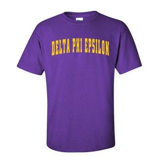 Delta Phi Epsilon Letterman T-Shirts