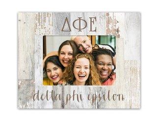 Delta Phi Epsilon Letters Barnwood Picture Frame