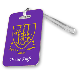 Delta Phi Epsilon Luggage Tag