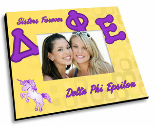Delta Phi Epsilon Mascot Color Picture Frame