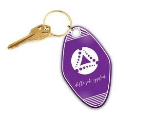 Delta Phi Epsilon Mascot Motel Keychain
