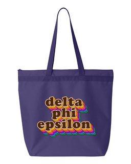 Delta Phi Epsilon Maya Tote Bag