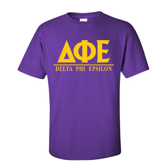 Delta Phi Epsilon Message T-Shirts