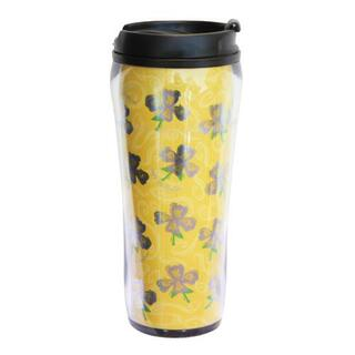 Delta Phi Epsilon Metallic Travel Mug