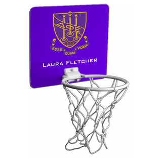 Delta Phi Epsilon Mini Basketball Hoop